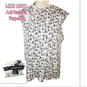• ADRIANNA PAPELL | LIKE NEW | Floral Blouse •